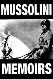Cover of: Phoenix: Mussolini Memoirs