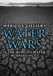 Cover of: Water wars: is the world's water running out?