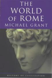 Cover of: The world of Rome