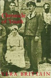 Cover of: Chronicle of youth