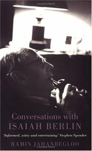 Cover of: Phoenix: Conversations with Isaiah Berlin