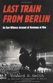 Cover of: Last train from Berlin