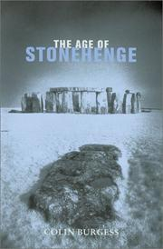 Cover of: The age of Stonehenge | Colin Burgess