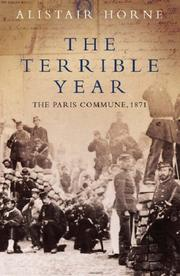 Cover of: The terrible year