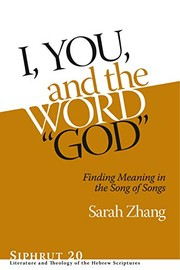 "Cover of: I, You, and the Word ""God"""