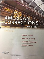 Cover of: American Corrections in Brief, Loose-leaf Version
