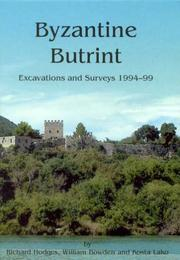 Cover of: Byzantine Butrint