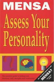 Cover of: Mensa Assess Your Personality