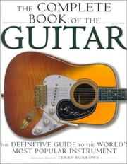 Cover of: Complete Book Of The Guitar | Carlton Books