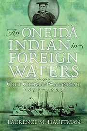Cover of: An Oneida Indian in Foreign Waters