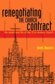 Cover of: Renegotiating the Church Contract