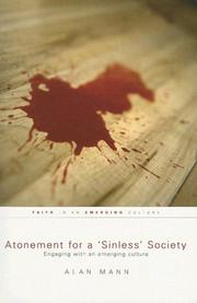 Cover of: Atonement for a 'Sinless' Society