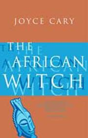 Cover of: The African witch