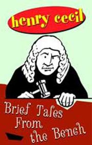 Cover of: Brief tales from the bench