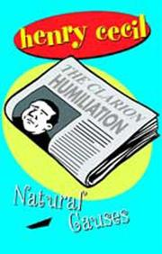 Cover of: Natural causes