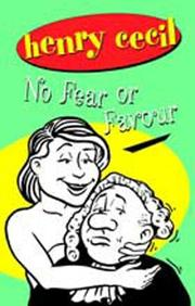 Cover of: No Fear or Favour