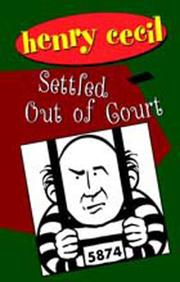 Cover of: Settled Out of Court