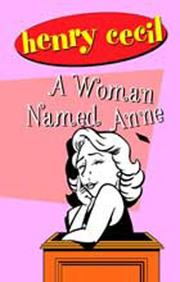 Cover of: A Woman Named Anne