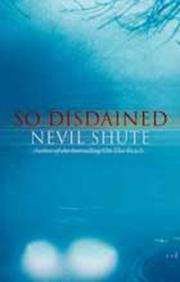 Cover of: So Disdained