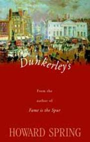 Cover of: Dunkerley's