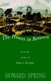 Cover of: The houses in between