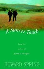Cover of: A sunset touch