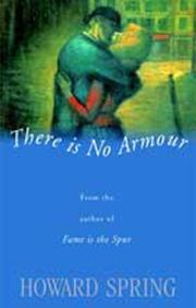 Cover of: There is no armour