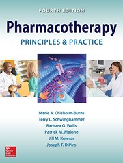Cover of: Pharmacotherapy Principles and Practice, Fourth Edition
