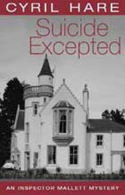 Cover of: Suicide Excepted (Inspector Mallett Mystery)