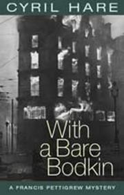 Cover of: With a bare bodkin