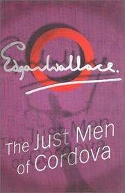 Cover of: The just men of Cordova