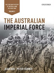 Cover of: The Australian Imperial Force