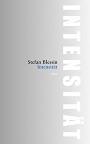 Cover of: Intensität