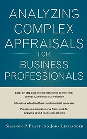 Cover of: Analyzing Complex Appraisals for Business Professionals