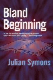 Cover of: Bland beginning