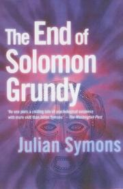 Cover of: The end of Solomon Grundy