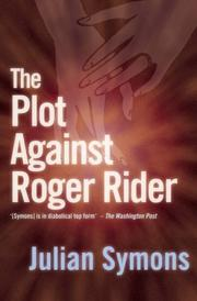 Cover of: The plot against Roger Rider