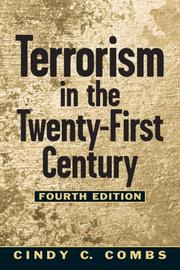 Cover of: Terrorism in the twenty-first century