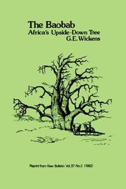 Cover of: The Baobab - Africa's Upside-down Tree