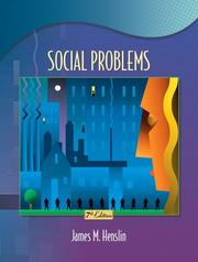Cover of: Social Problems (7th Edition)