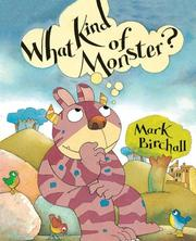 Cover of: What Kind of Monster?