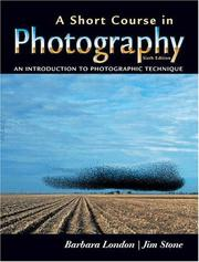 Cover of: A Short Course in Photography | Barbara London