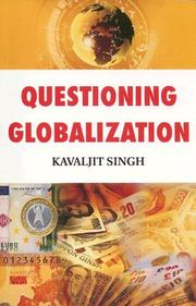Cover of: Questioning globalization
