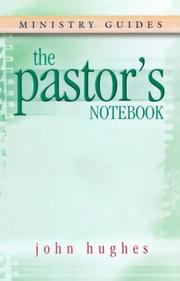 Cover of: The Pastor's Notebook
