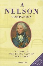 Cover of: A Nelson Companion | C Maynard