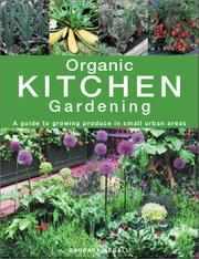 Cover of: Organic Kitchen Gardening
