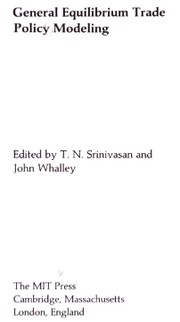 Cover of: General equilibrium trade policy modeling |
