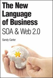 Cover of: The New Language of Business | Sandy Carter