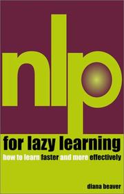 Cover of: NLP for lazy learning | Diana Beaver