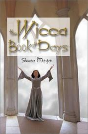Cover of: The Wicca Book of Days | Sheena Morgan